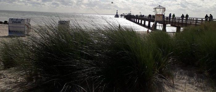 Grömitz Urlaub Ostsee Seebrücke Ferien Strand