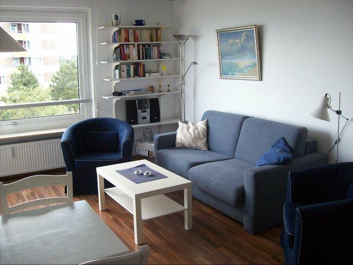 Ferienwohnung Ostsee Sitzecke Grömitz FeWo Appartement
