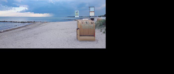 Hundestrand Grömitz Strandkorb Ostsee