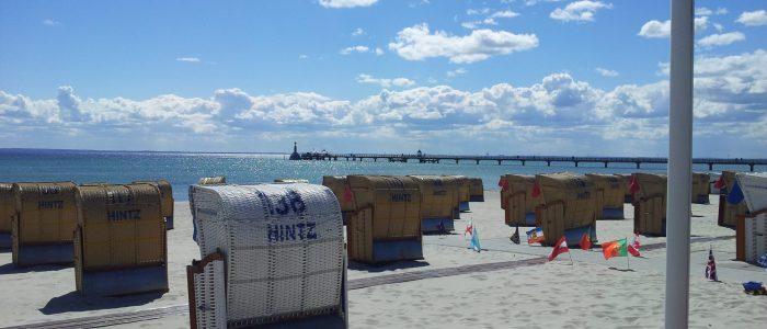 Strand Ostsee Ostseestrand Grömitz Lübecker Bucht Strandkörbe