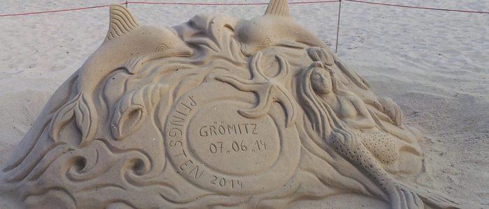 Sandskulptur Grömitz
